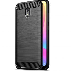 Cиликоновый TPU чехол Slim Series для Xiaomi Redmi 8a – Черный