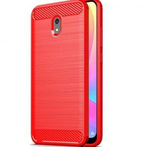 Cиликоновый TPU чехол Slim Series для Xiaomi Redmi 8a – Красный