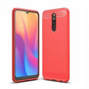 Cиликоновый TPU чехол Slim Series для Xiaomi Redmi 8 / 8a – Красный