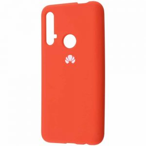 Оригинальный чехол Silicone Cover 360 с микрофиброй для Huawei Honor 20 / Nova 5T – Orange