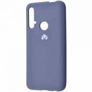 Оригинальный чехол Silicone Cover 360 с микрофиброй для Huawei Honor 20 / Nova 5T – Lavender gray
