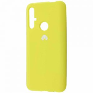Оригинальный чехол Silicone Cover 360 с микрофиброй для Huawei Honor 20 / Nova 5T – Yellow
