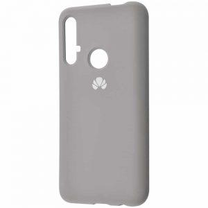 Оригинальный чехол Silicone Cover 360 с микрофиброй для Huawei Honor 20 / Nova 5T – Gray