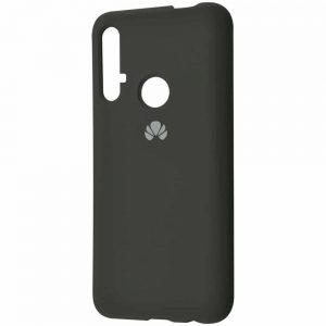 Оригинальный чехол Silicone Cover 360 с микрофиброй для Huawei Honor 20 / Nova 5T – Dark olive