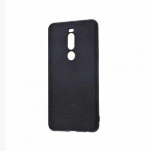 TPU + PC чехол Holographic Leather для Meizu M8 – Black