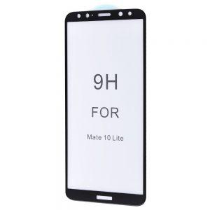 Защитное стекло 5D Premium 9H Full Glue на весь экран для Huawei Mate 10 Lite – Black