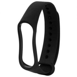 Ремешок для фитнес-браслета Xiaomi Mi Band 3 / 4 – Black
