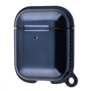 Чехол для наушников WIWU Shining Mirror Case на Apple Airpods – Black