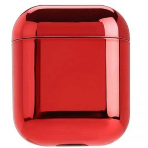 Чехол для наушников Electroplate PC Cover Case для Apple Airpods – Red