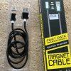 Кабель Aspor AM-102 Magnetic cable USB to microUSB 2.1A (1м)- Black