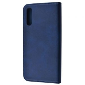 Чехол-книжка Black TPU Magnet  для Samsung Galaxy A50 / A30s 2019 – Blue