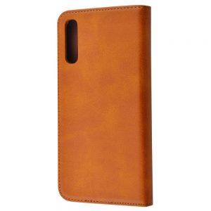 Чехол-книжка Black TPU Magnet для Samsung Galaxy A50 / A30s 2019 – Brown