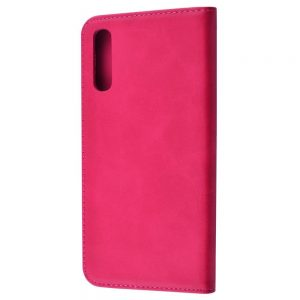 Чехол-книжка Black TPU Magnet  для Samsung Galaxy A50 / A30s 2019 – Pink