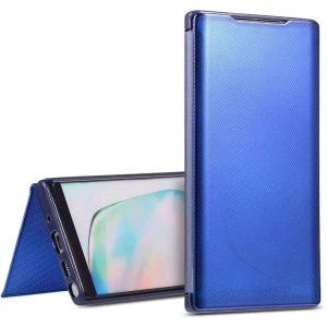 Чехол-книжка Clear View TPU Cover для Samsung Galaxy M30s — Синий