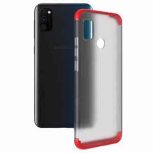 Матовая PC накладка GKK LikGus 360 градусов для Samsung Galaxy M30s (M307F) – Красный