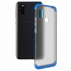 Матовая PC накладка GKK LikGus 360 градусов для Samsung Galaxy M30s (M307F) – Синий