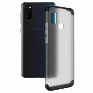 Матовая PC накладка GKK LikGus 360 градусов для Samsung Galaxy M30s / M21 – Черный