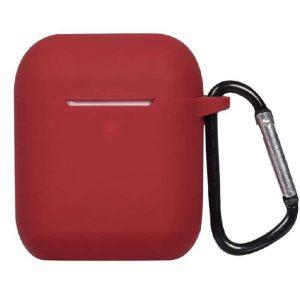 Чехол для наушников Generation Silicone Case для Apple Airpods – Wine Red