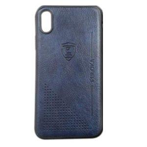 Кожаный чехол-накладка PULOKA Desi для Xiaomi Redmi 8 / 8A – Синий