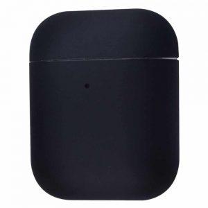 Чехол для наушников Silicone Case Ultra Slim для Apple Airpods 2 – Black