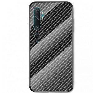 TPU+Glass чехол Twist для Xiaomi Mi Note 10 / Mi Note 10 Pro – Черный