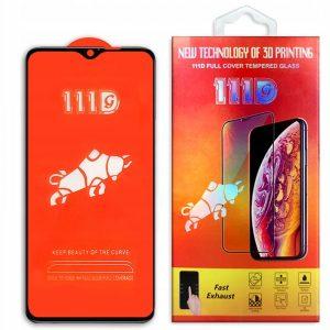 Защитное стекло 111D Full Glue Cover Glass на весь экран для Xiaomi Redmi Note 8 Pro – Black