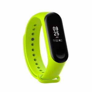 Ремешок для фитнес-браслета Xiaomi Mi Band 3 / 4 – Lime