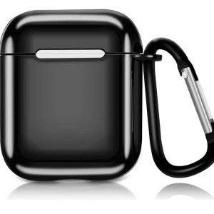 Чехол для наушников Electroplate TPU Cover Case для Apple Airpods – Black