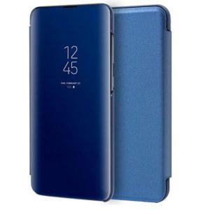 Чехол-книжка Clear View Standing Cover для Samsung Galaxy S20 — Синий