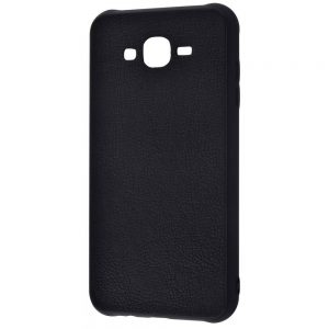 Чехол Holographic Leather Case для Samsung Galaxy J7/J7 Neo – Black
