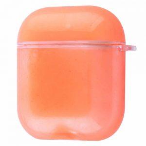 Чехол для наушников Stardust Magic Case для Apple AirPods – Neon orange