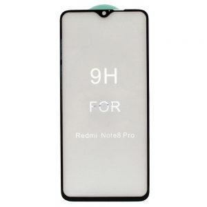 Защитное стекло 5D Premium 9H Full Glue на весь экран для Xiaomi Redmi Note 8 Pro – Black