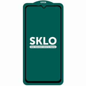 Защитное стекло 3D (5D) Perfect Glass Full Glue SKLO на весь экран для Samsung Galaxy A10 (A105) / A10s 2019 (A107) – Black