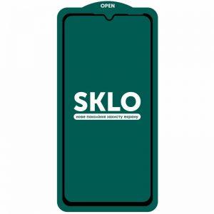 Защитное стекло 3D (5D) Perfect Glass Full Glue SKLO на весь экран для Samsung Galaxy A20 / A30 / A30s / A50 / M30s / M31 / M21 – Black