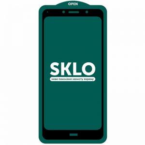 Защитное стекло 3D (5D) Perfect Glass Full Glue SKLO на весь экран для Xiaomi Redmi 7A  – Black