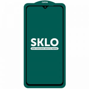 Защитное стекло 3D (5D) Perfect Glass Full Glue SKLO на весь экран для Xiaomi Redmi Note 8 Pro – Black
