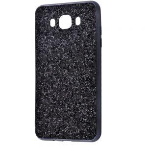 Чехол Shining Corners With Sparkles для Samsung Galaxy J7/J7 Neo – Black