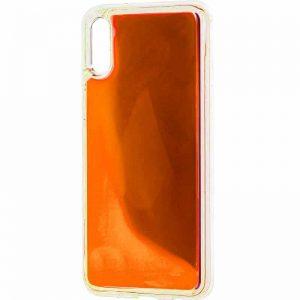 Неоновый чехол Neon Sand светящийся в темноте для Xiaomi Redmi 7A – Оранжевый