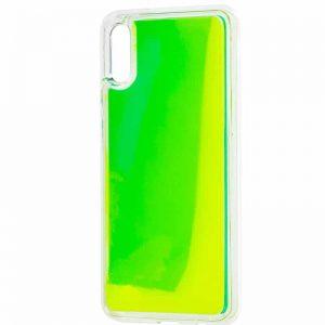Неоновый чехол Neon Sand светящийся в темноте для Xiaomi Redmi 7A – Зеленый