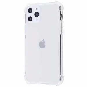 Прозрачный силиконовый TPU чехол с усиленными углами для Iphone 11 Pro Max – White