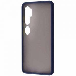 Чехол TPU Matte Color Case для Xiaomi Mi Note 10 / 10 Pro – Dark blue