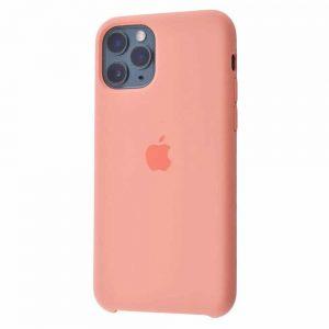 Оригинальный чехол Silicone case + HC для Iphone 11 Pro Max №25 – Peach