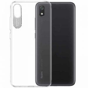 Прозрачный силиконовый TPU чехол Epic clear flash для Xiaomi Redmi 7A – Серебряный