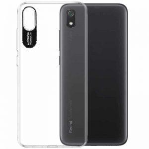 Прозрачный силиконовый TPU чехол Epic clear flash для Xiaomi Redmi 7A – Черный