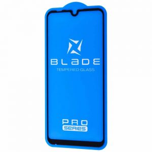 Защитное стекло 3D (5D) Blade Glass Full Glue на весь экран для Xiaomi Mi Play – Black