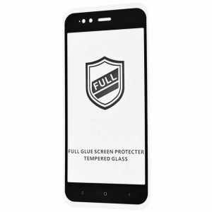 Защитное стекло 3D (5D) Perfect Glass Full Glue на весь экран для Xiaomi Mi 5x / Mi A1 — Black