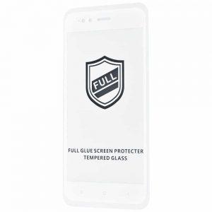 Защитное стекло 3D (5D) Perfect Glass Full Glue на весь экран для Xiaomi Mi 5x / Mi A1 — White