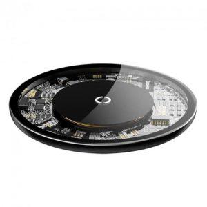 Беспроводное зарядное устройство Baseus Simple 5V / 2A – Clear