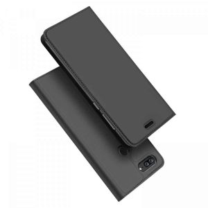 Чехол-книжка Dux Ducis с карманом для Huawei Honor 9 Lite – Серый
