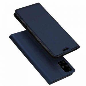 Чехол-книжка Dux Ducis с карманом для Samsung Galaxy A51 — Синий